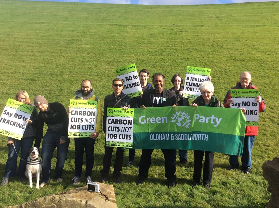 Deykia Nzeribe joins Oldham & Saddleworth Green Party members